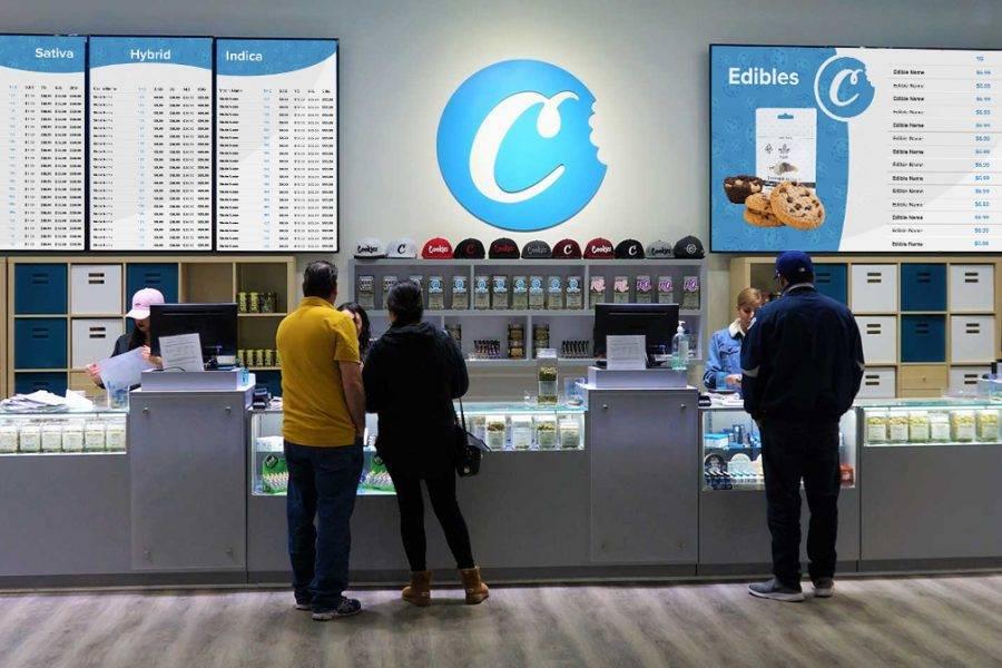 Digital Menu Display - Cookies